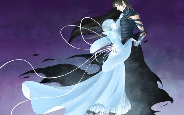 Anime Bleach Ichigo Kurosaki Rukia Kuchiki Dance Bankai HD Wallpaper | Background Image