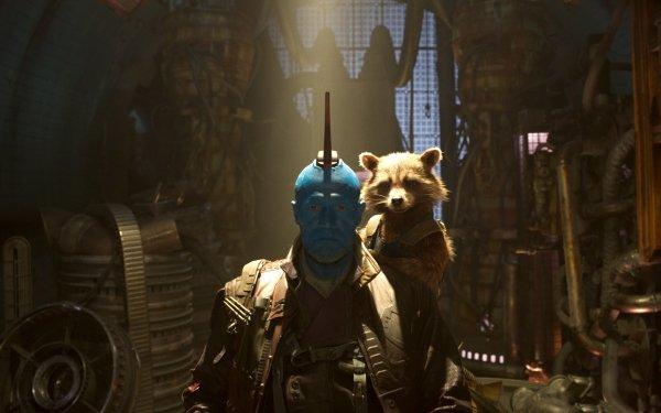 Movie Guardians of the Galaxy Vol. 2 Rocket Raccoon Michael Rooker Yondu Udonta HD Wallpaper | Background Image