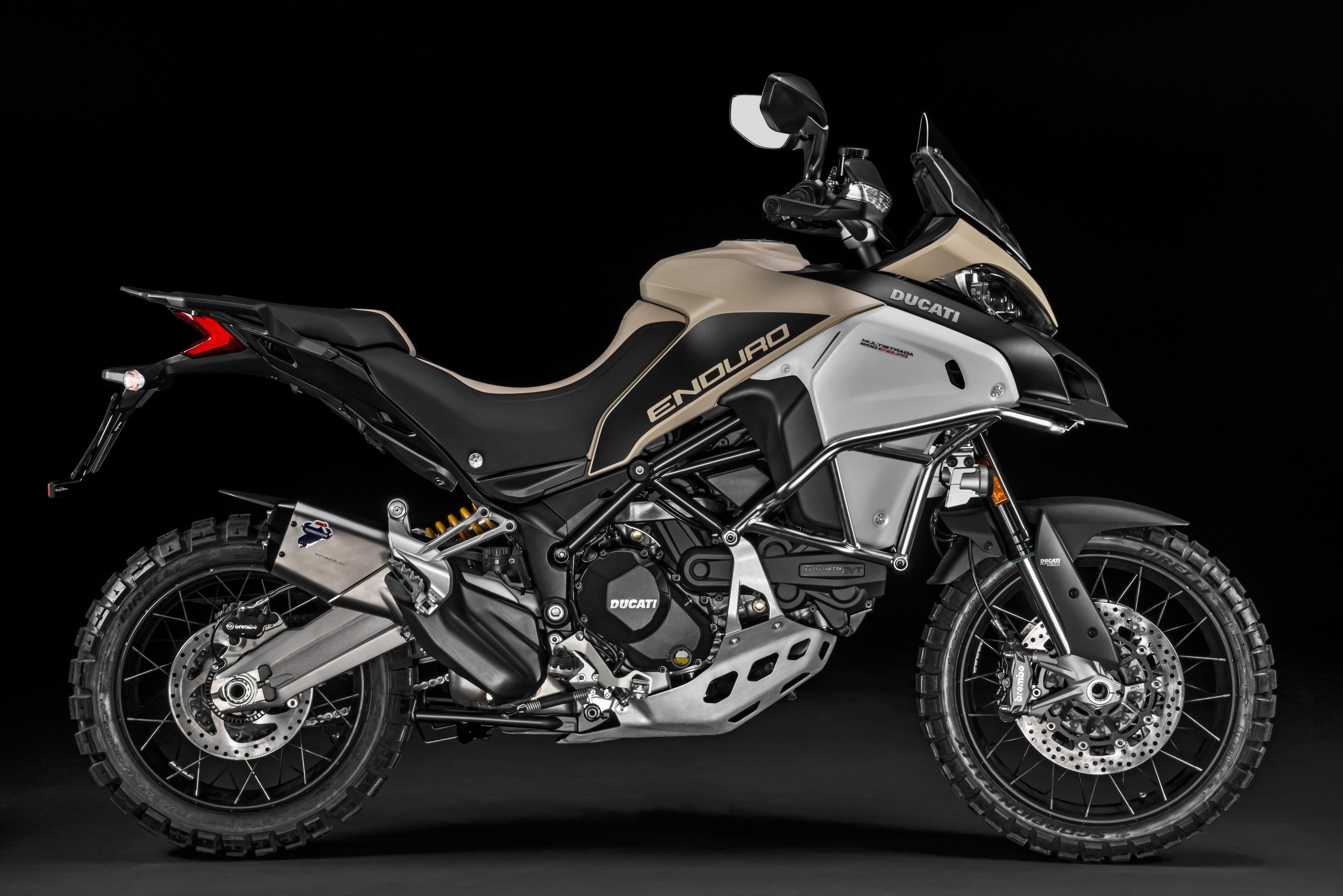 Ducati Multistrada 1200 Enduro 4k Ultra HD Wallpaper and Background