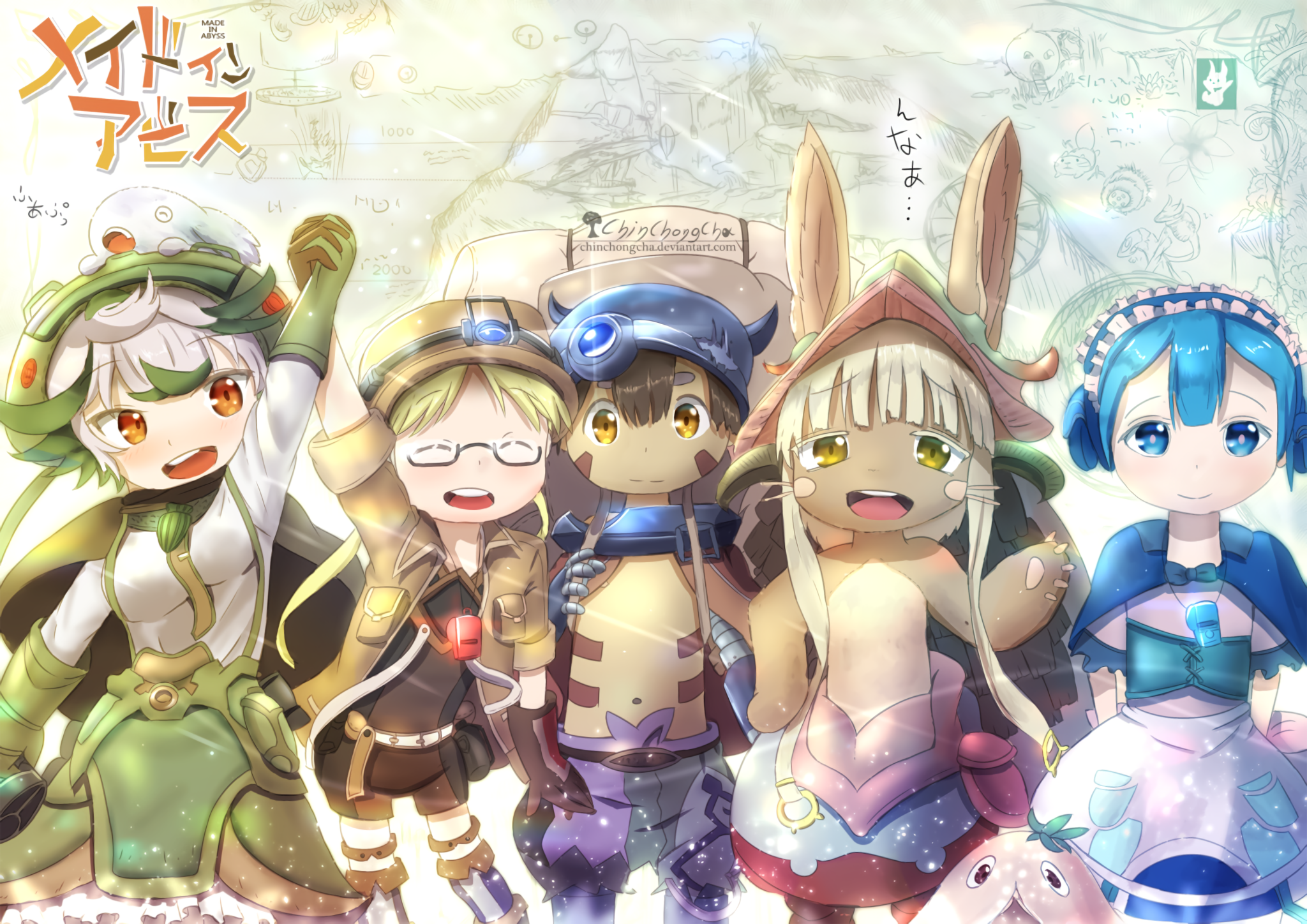 Made In Abyss HD Wallpaper  Background Image  2048x1448  ID:860634  Wallpaper Abyss