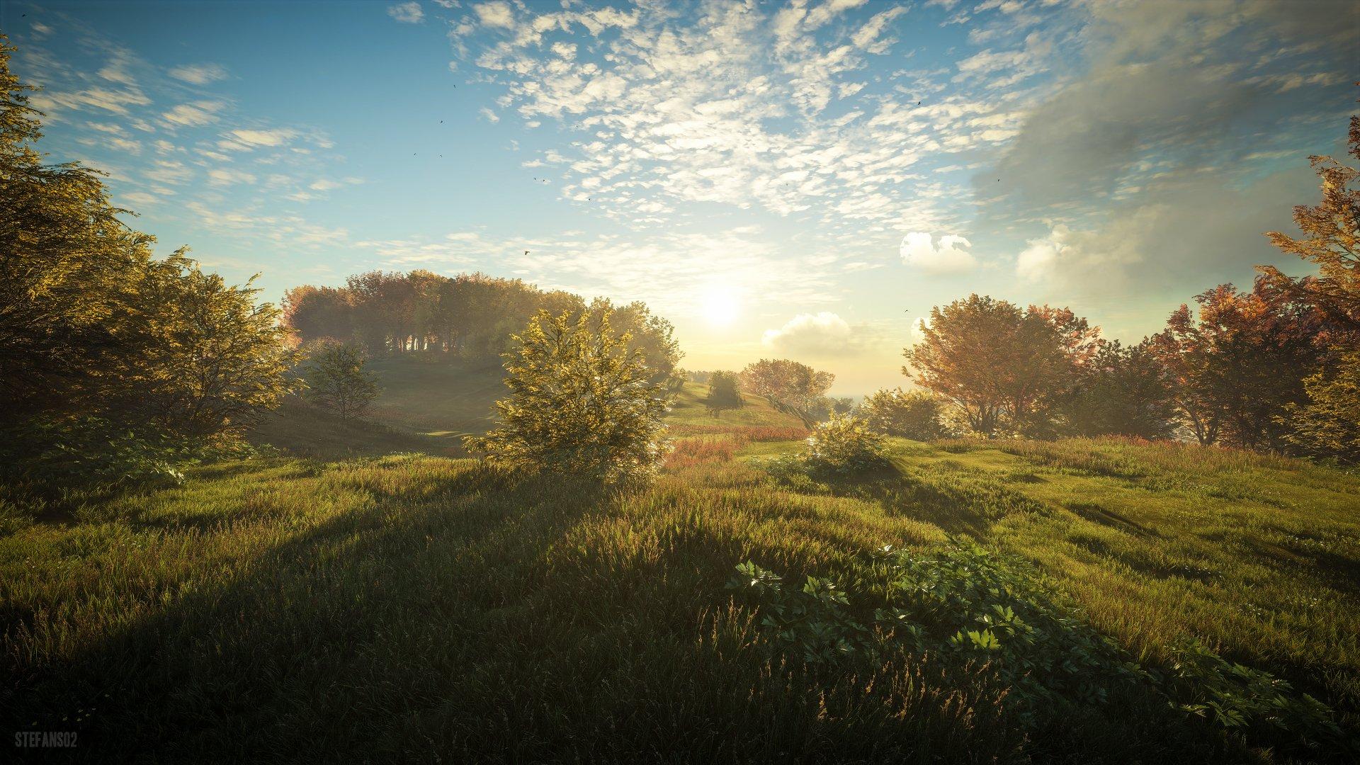 TheHunter: Call Of The Wild / Morning Sun 4k Ultra HD