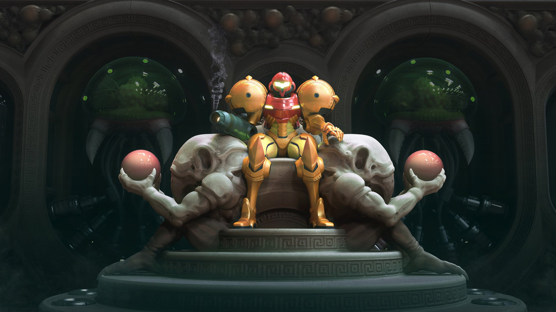 Video Game - Metroid: Samus Returns  Samus Aran Wallpaper