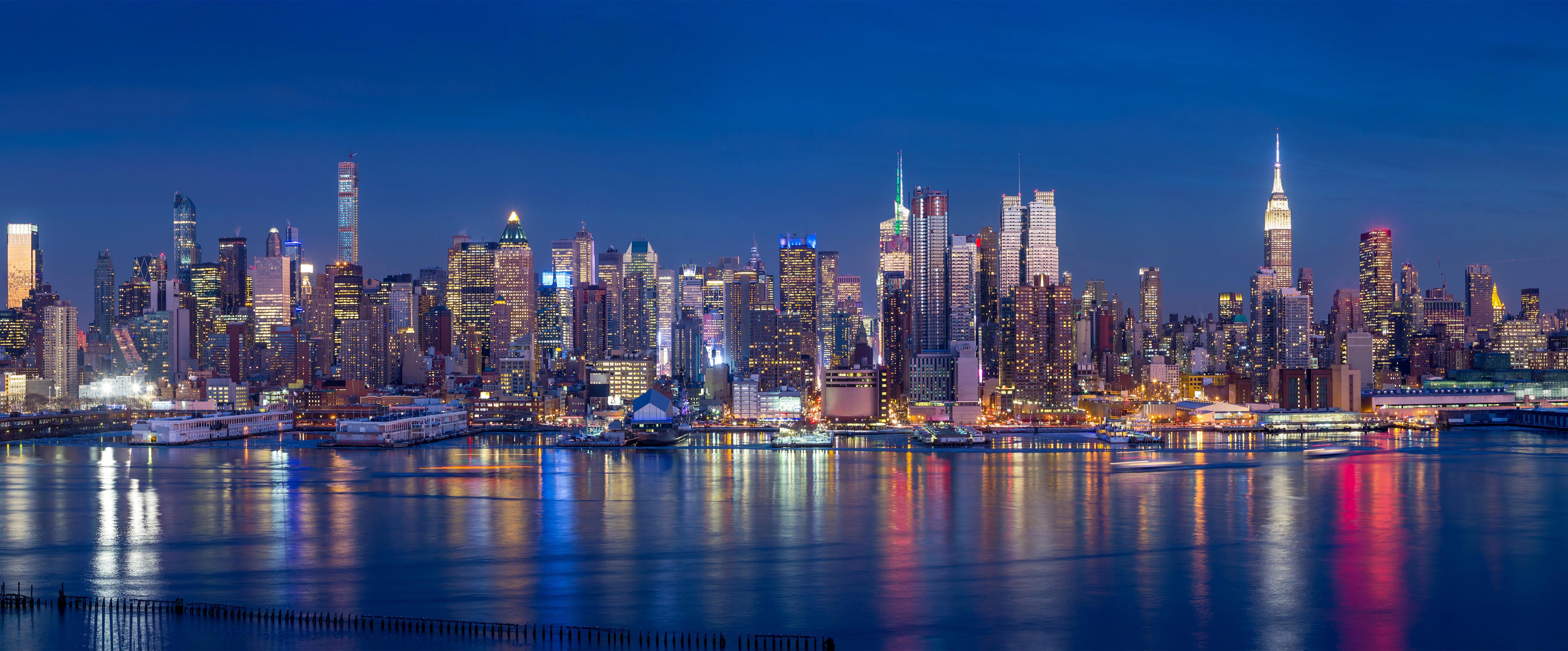 New York 4k Ultra Fond Décran Hd Arrière Plan 5540x2300