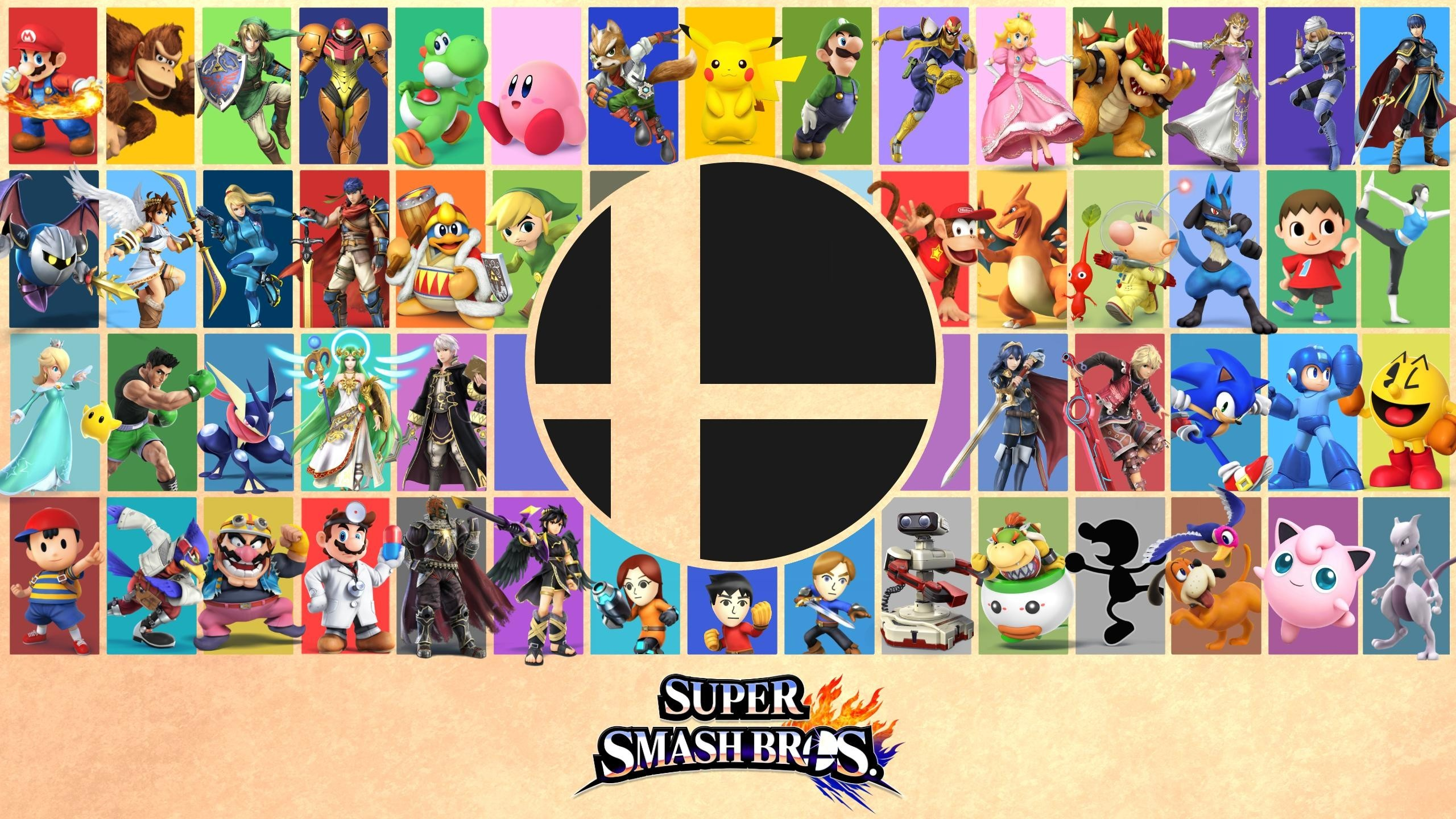 Super Smash Bros For Nintendo 3ds And Wii U Hd Wallpaper
