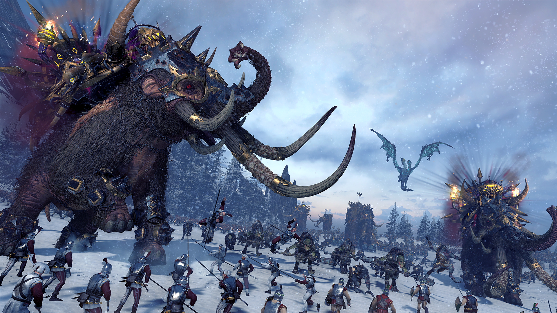 Video Game - Total War: Warhammer  Fantasy Norsca (Total War: Warhammer) Wallpaper