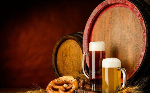 Food Beer Glass Alcohol Still Life Barrel HD Wallpaper | Background Image