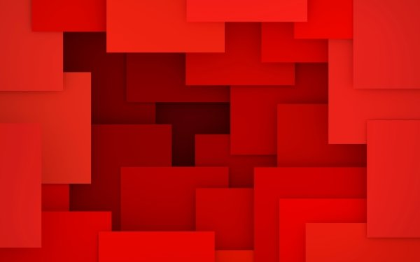 Abstract Red Rectangle Geometry HD Wallpaper | Background Image