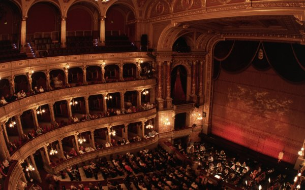 Man Made Opera House Theatre HD Wallpaper | Background Image