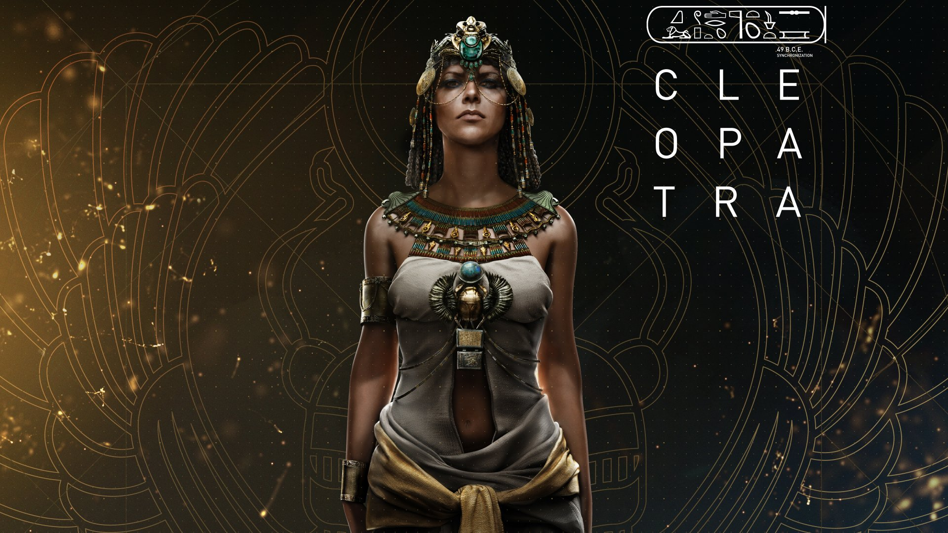 Видеоигры - Assassin's Creed Истоки  Cleopatra Обои