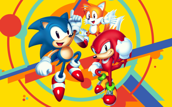 """Video Game Sonic Mania Sonic Sonic the Hedgehog Knuckles the Echidna Miles """"Tails"""" Prower Classic Knuckles Classic Sonic Classic Tails HD Wallpaper 
