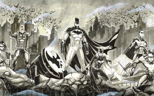 Comics Batman DC Comics Robin Batwoman Nightwing HD Wallpaper   Background Image