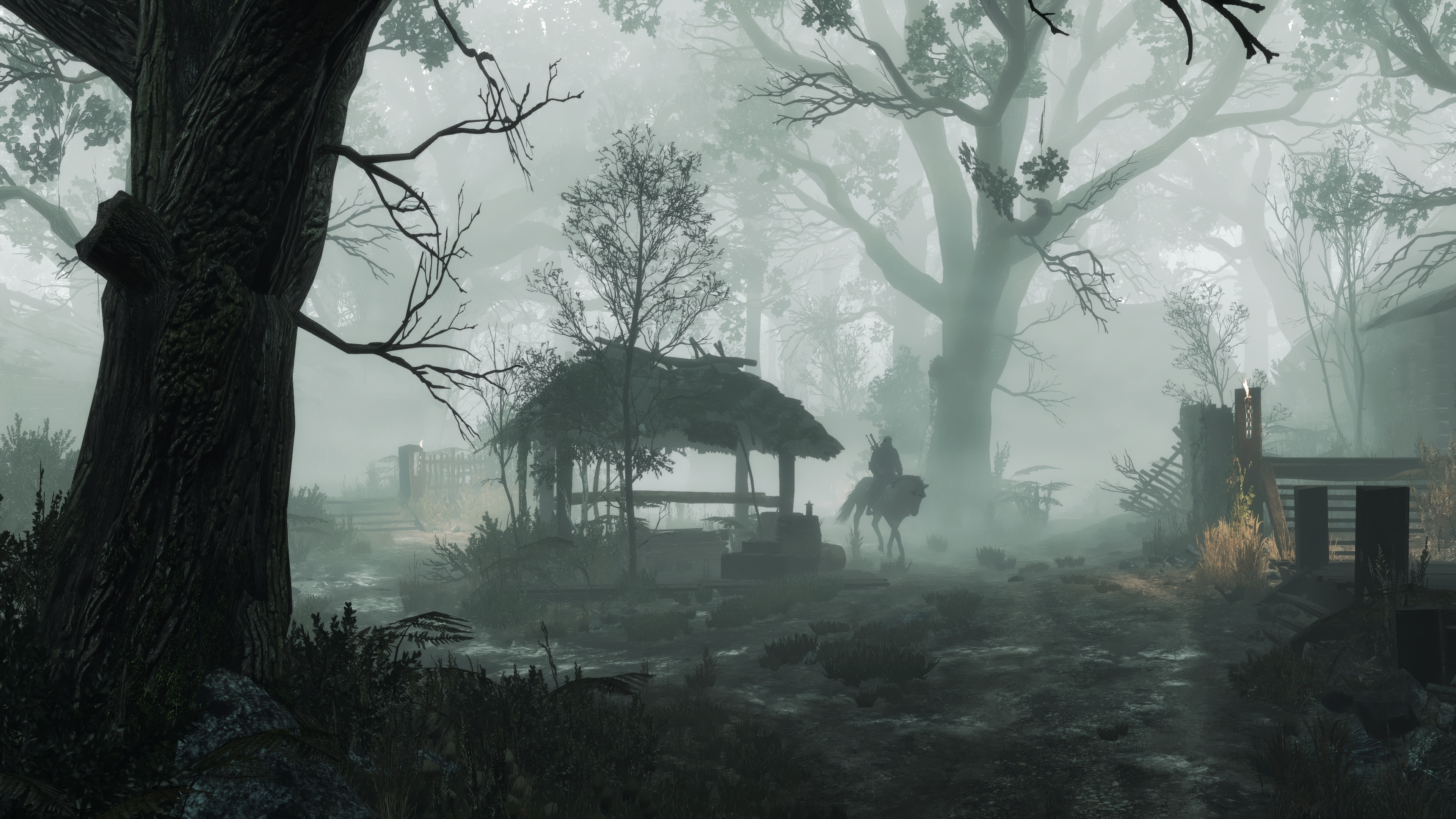 How can I achieve that kind of fog in Witcher 3? Is it possible