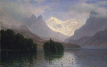 14 Wallpapers By Albert Bierstadt Wallpaper Abyss