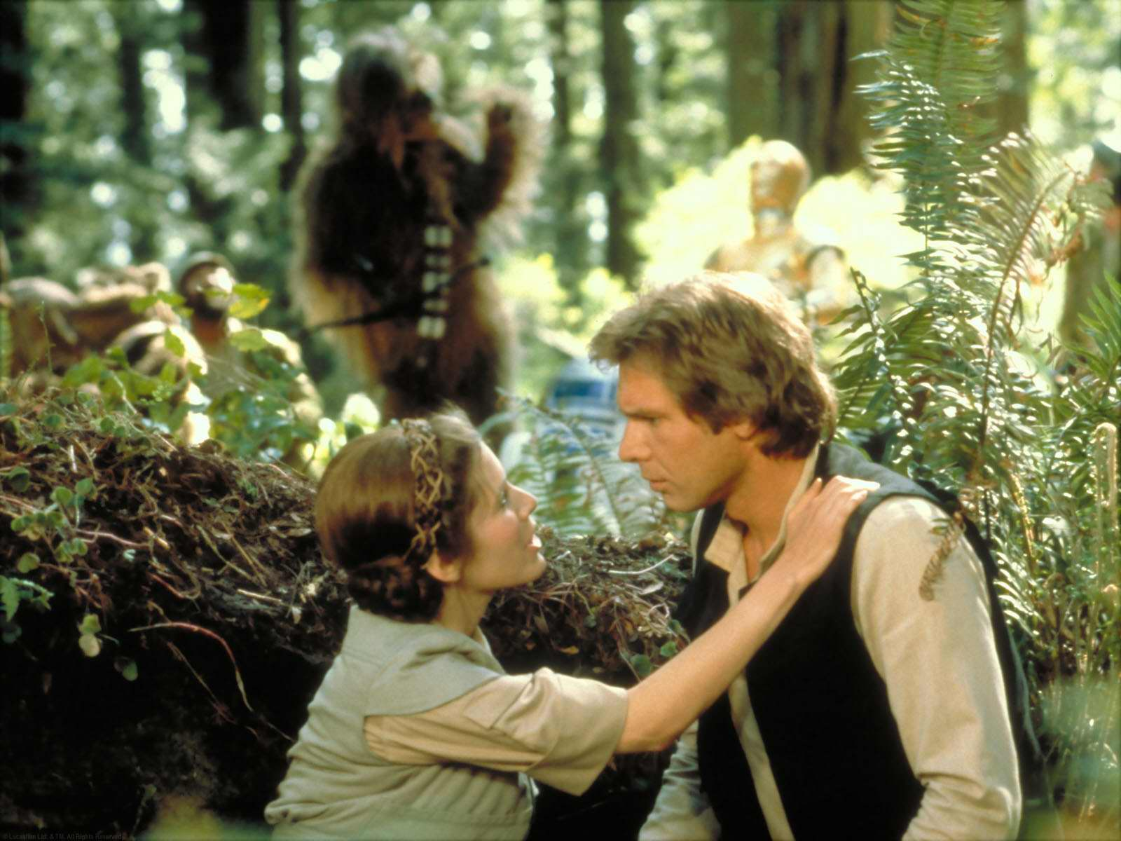 Victory Kiss On Endor Wallpaper And Background Image 1600x1200