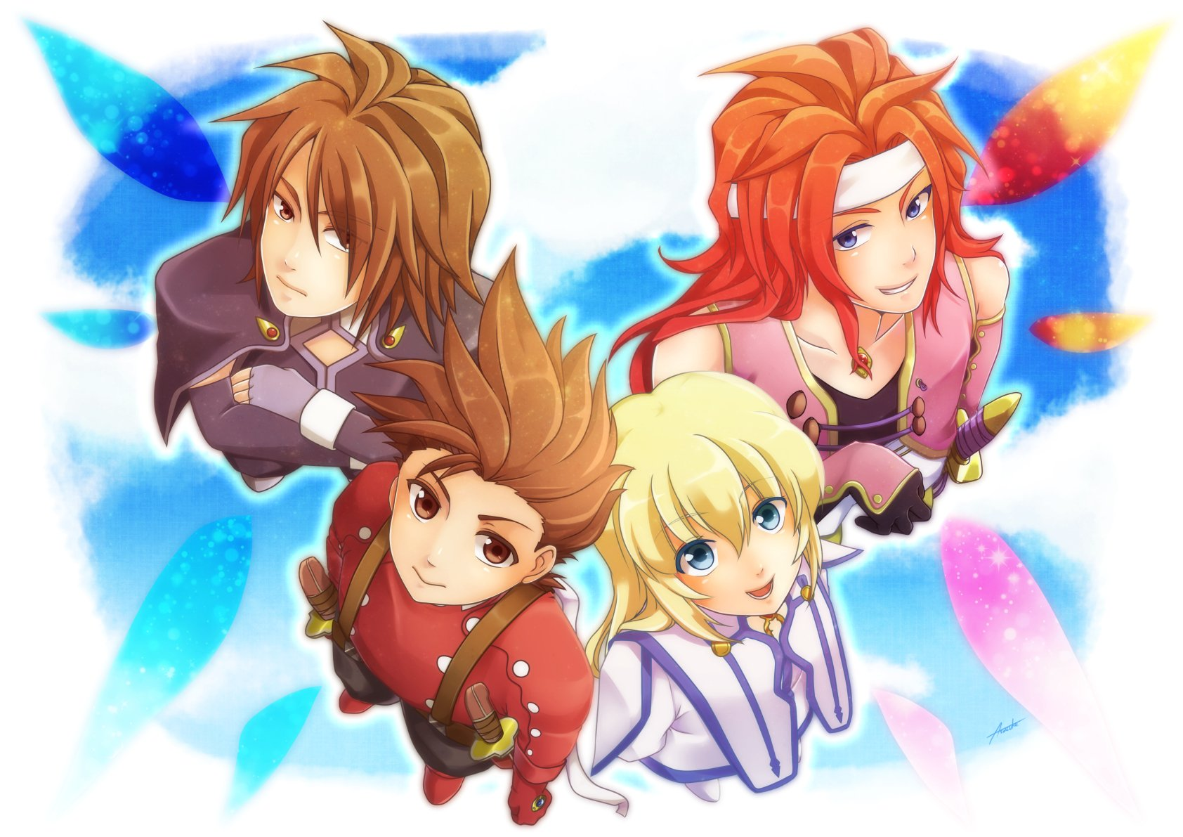 Tales Of Symphonia Wallpaper And Background Image 1684x1191 Id