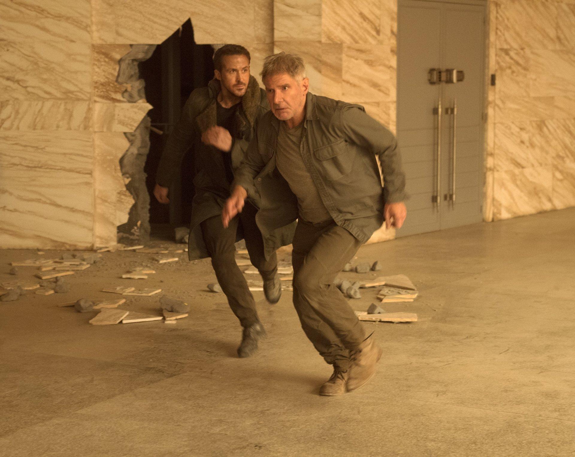 电影 - 银翼杀手2049  Ryan Gosling Harrison Ford Officer K (Blade Runner 2049) Rick Deckard 壁纸