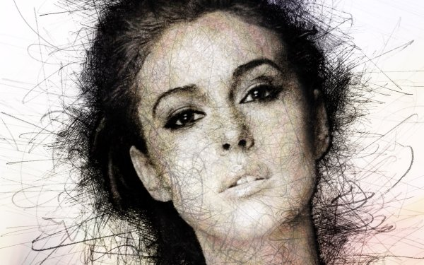 Celebrity Monica Bellucci Actresses Italy Face Actress Italian Drawing HD Wallpaper   Background Image
