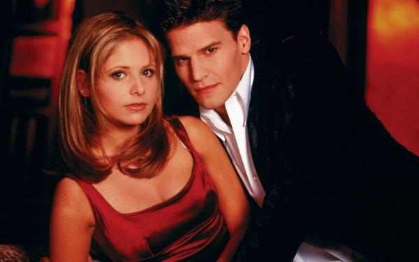 TV Show Buffy The Vampire Slayer Sarah Michelle Gellar David Boreanaz HD Wallpaper | Background Image