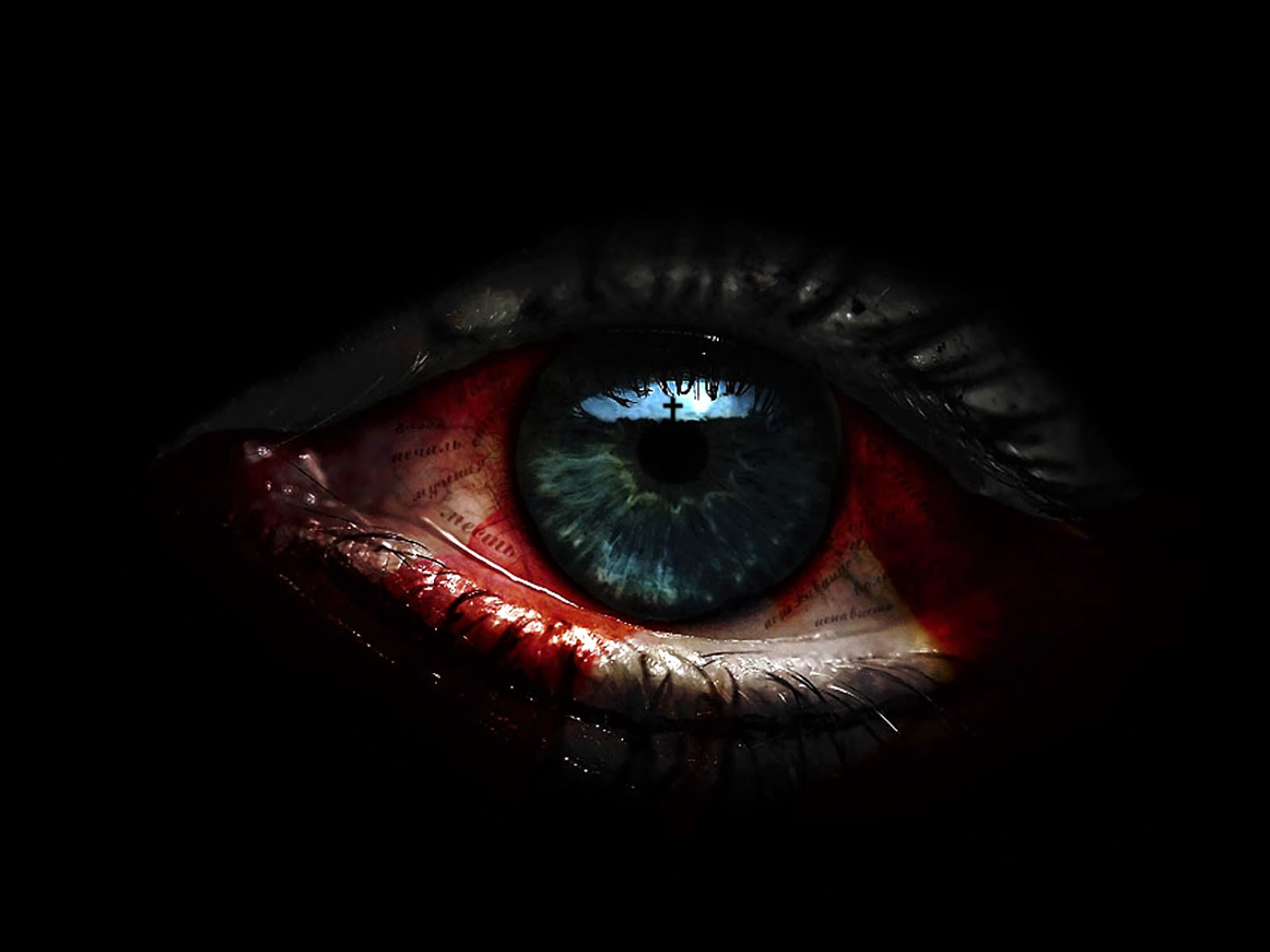 Scary Eye HD Wallpaper | Background Image | 1920x1440 | ID ...