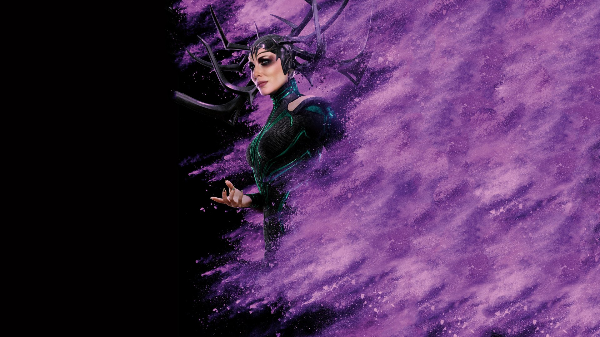 Movie - Thor: Ragnarok  Cate Blanchett Hela (Marvel Comics) Wallpaper