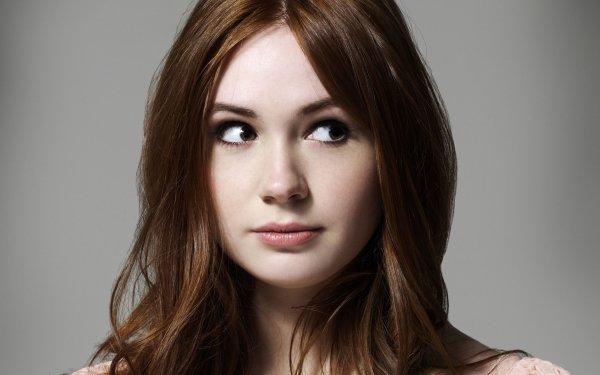 Celebrity Karen Gillan Actresses United Kingdom Actress Redhead Scottish Face HD Wallpaper   Background Image