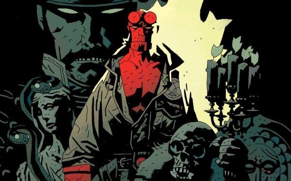 Comics Hellboy Dark Horse Comics HD Wallpaper | Background Image