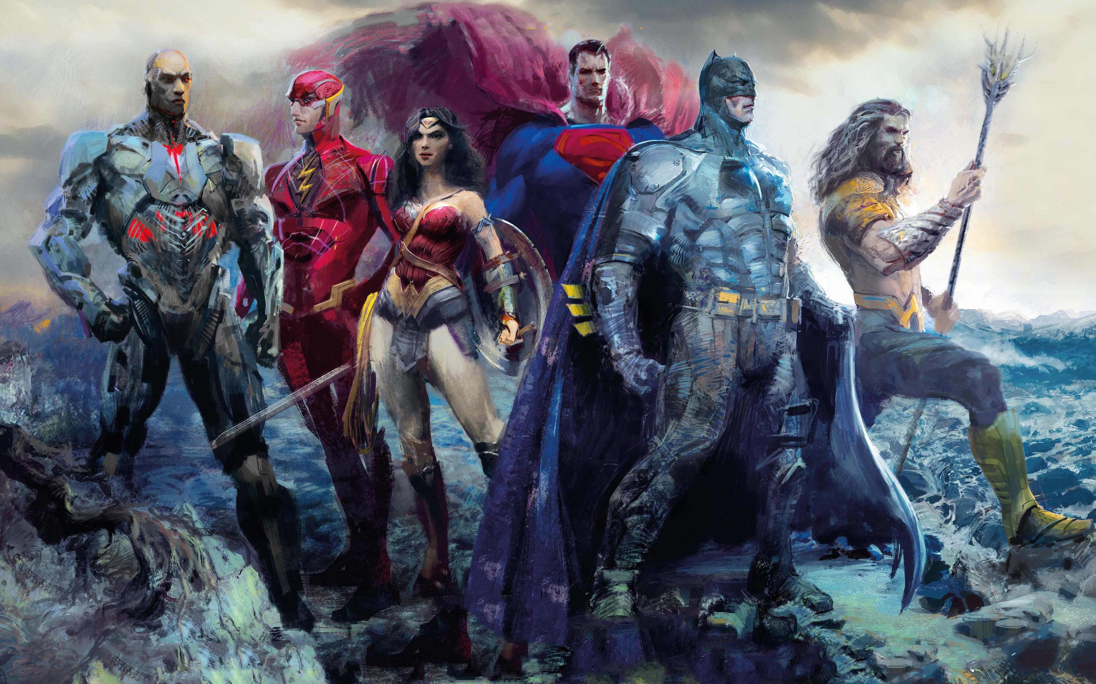 Wallpaper Justice League 2017 Movies Flash Superman: Justice League (2017) HD Wallpaper