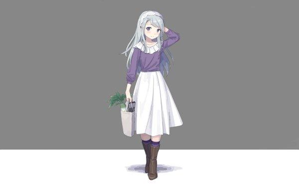 Anime Kantai Collection Sagiri HD Wallpaper   Background Image
