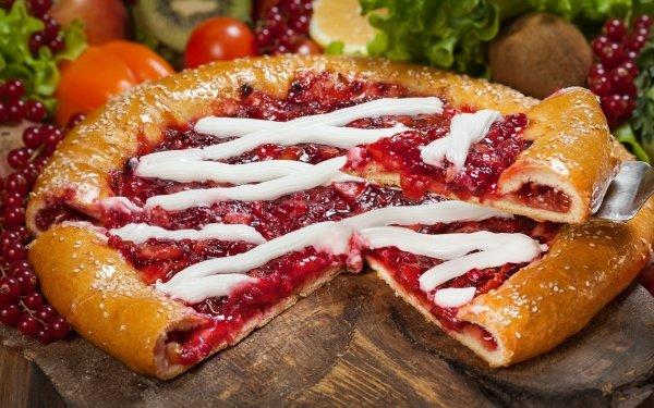 Alimento Tarta Bodegón Baya Grosellas Pastry Fruta Fondo de pantalla HD | Fondo de Escritorio
