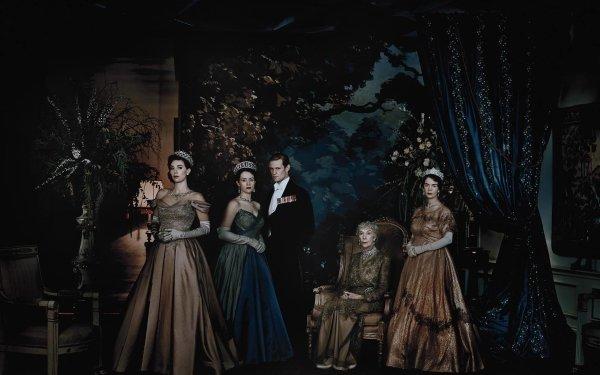 TV Show The Crown Queen Elizabeth II Claire Foy Prince Philip Matt Smith Princess Margaret Vanessa Kirby Queen Elizabeth Victoria Hamilton HD Wallpaper | Background Image