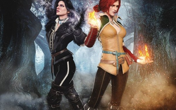 Video Game The Witcher 3: Wild Hunt The Witcher Yennefer of Vengerberg Triss Merigold HD Wallpaper | Background Image