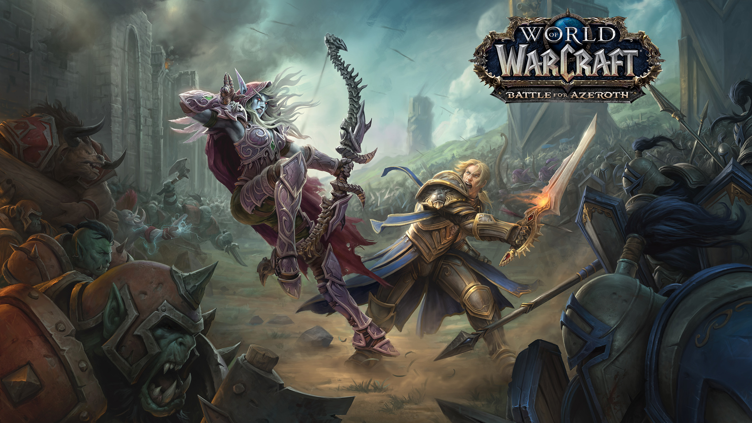 51 World Of Warcraft Battle For Azeroth Hd Wallpapers