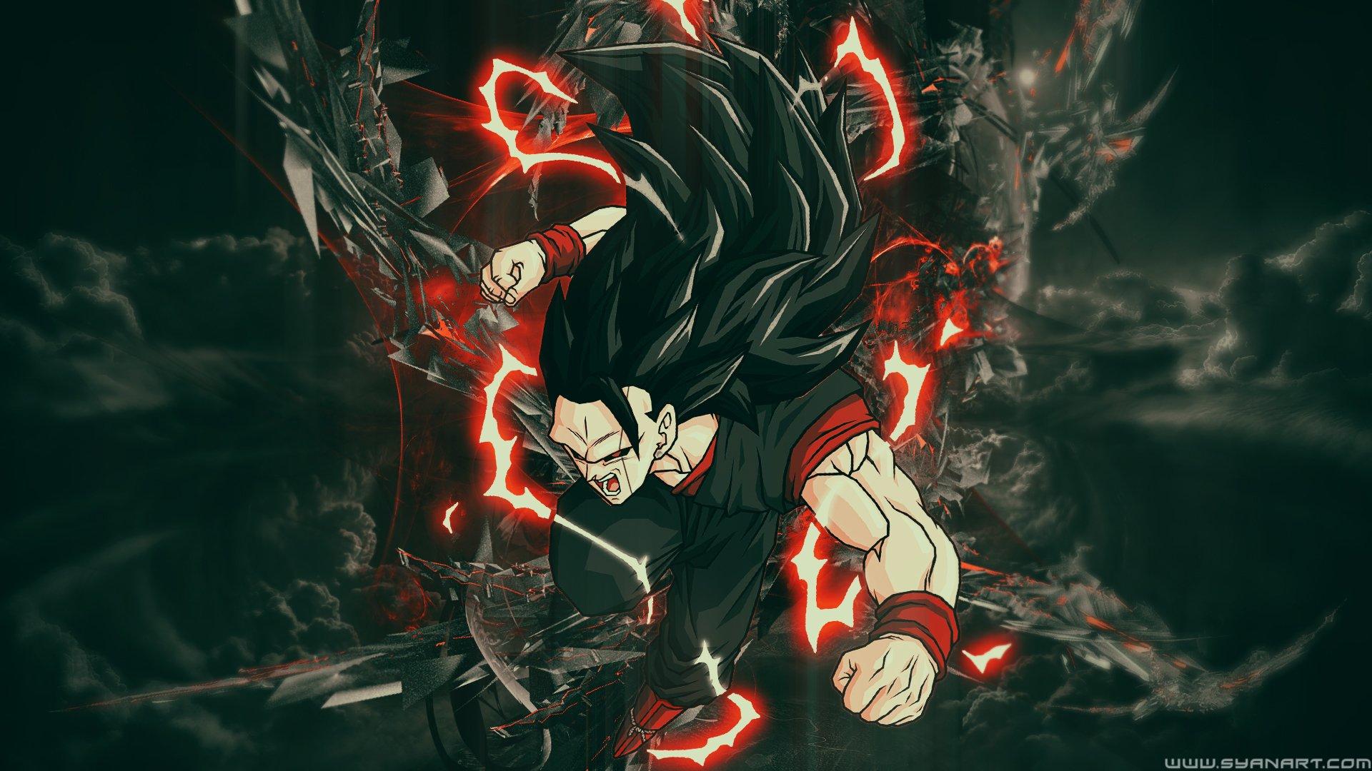 Black Goku Fondo De Pantalla And Fondo De Escritorio: DBS Goku Black SSJ3 Fondo De Pantalla HD