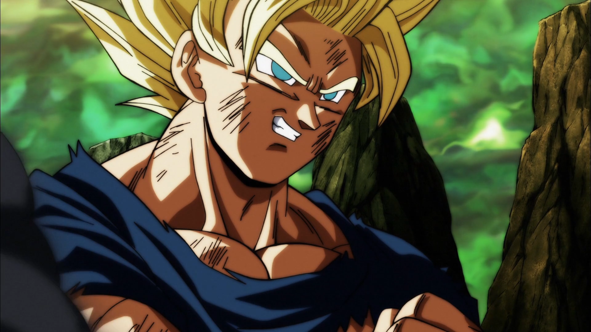 Dragon Ball Super Goku Saiyan HD Wallpaper