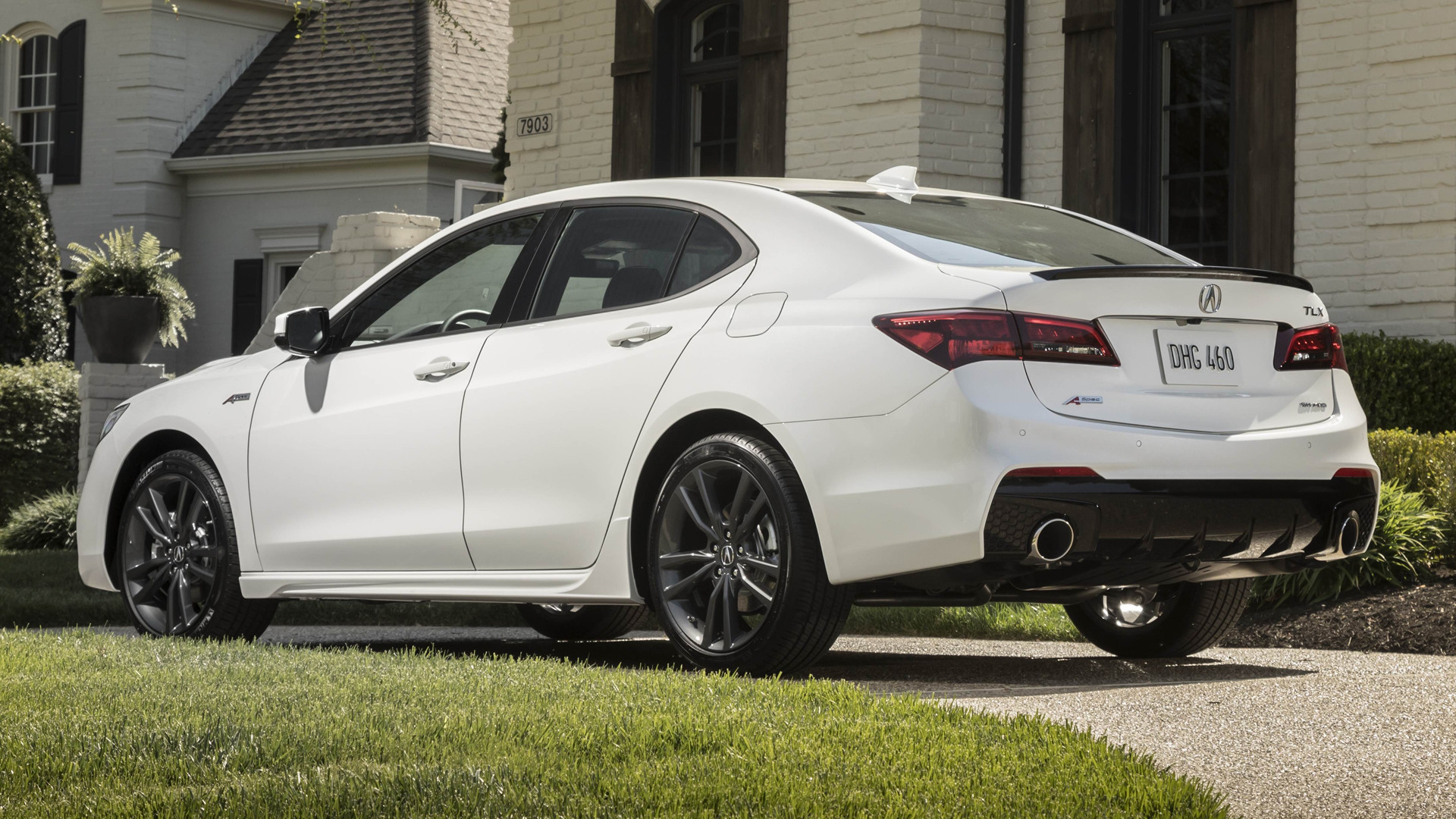 2018 Acura Tlx A Spec Hd Wallpaper Background Image