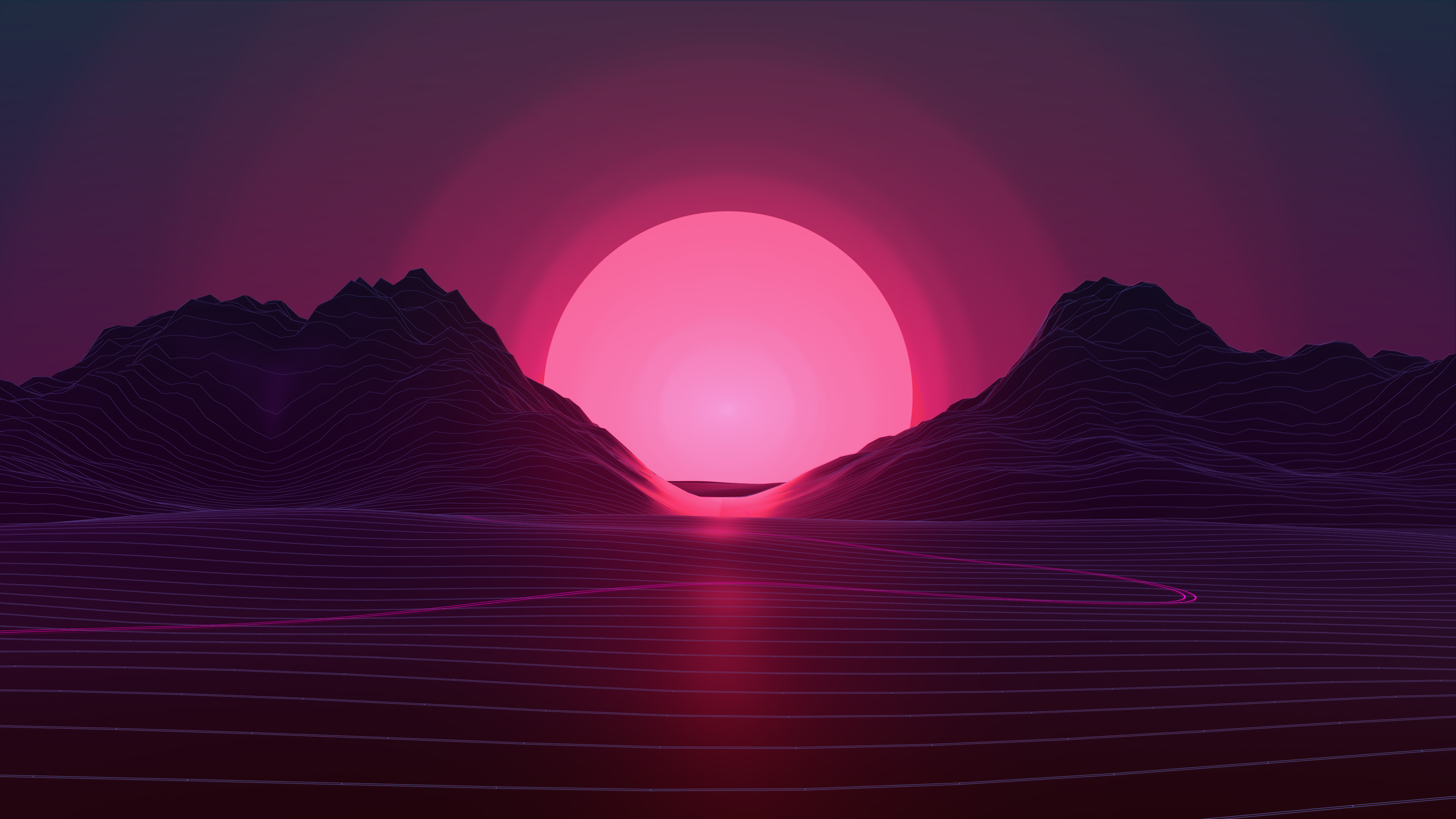 120 Retro Wave Hd Wallpapers Background Images Wallpaper Abyss