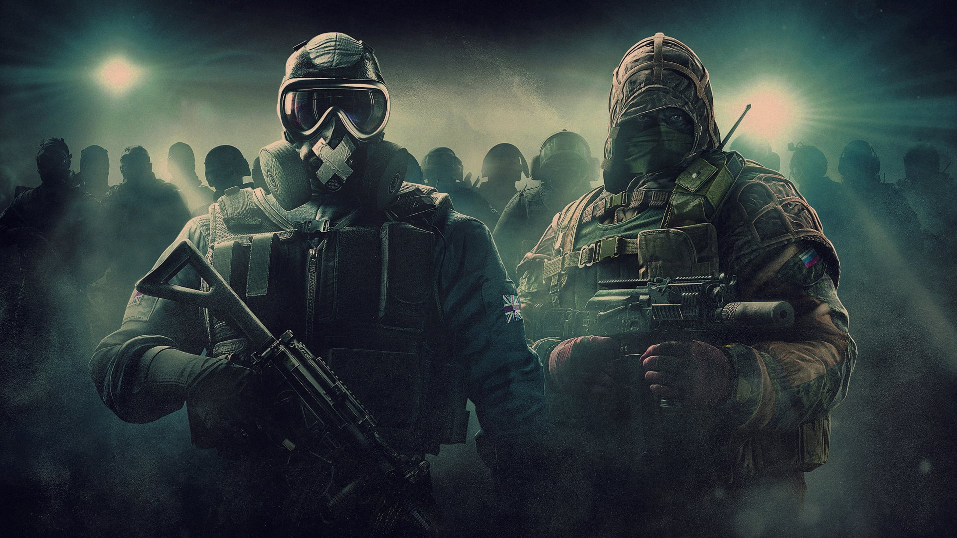 Video Game - Tom Clancy's Rainbow Six: Siege  Mute (Tom Clancy's Rainbow Six: Siege) Kapkan (Tom Clancy's Rainbow Six: Siege) Gas Mask Wallpaper