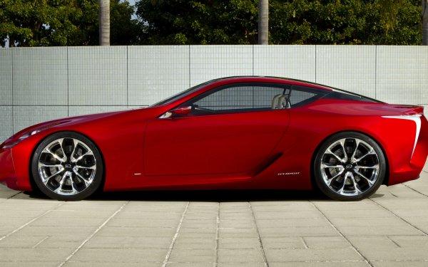 Véhicules Lexus LF-LC Lexus Concept Car Luxury Car Red Car Coupé Fond d'écran HD | Image