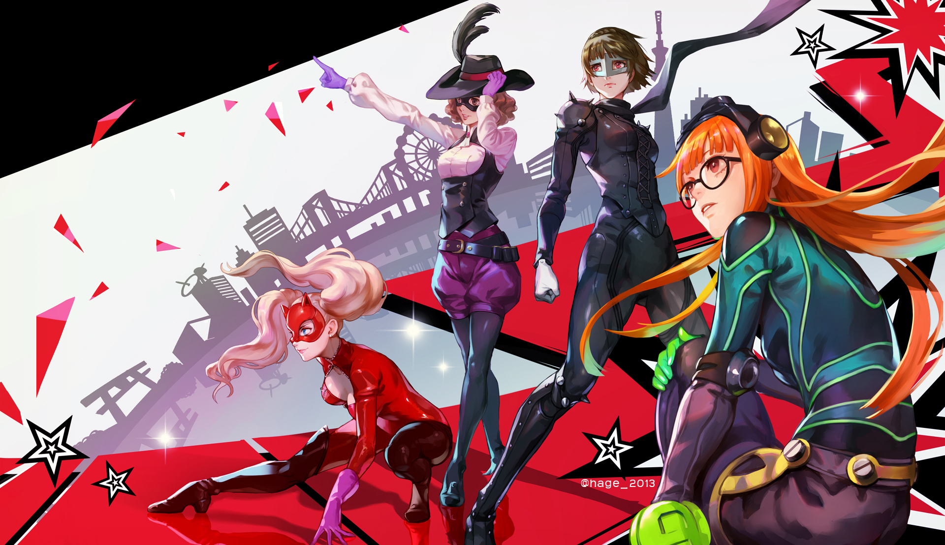 Persona 5 HD Wallpaper | Background Image | 1920x1108 | ID ...