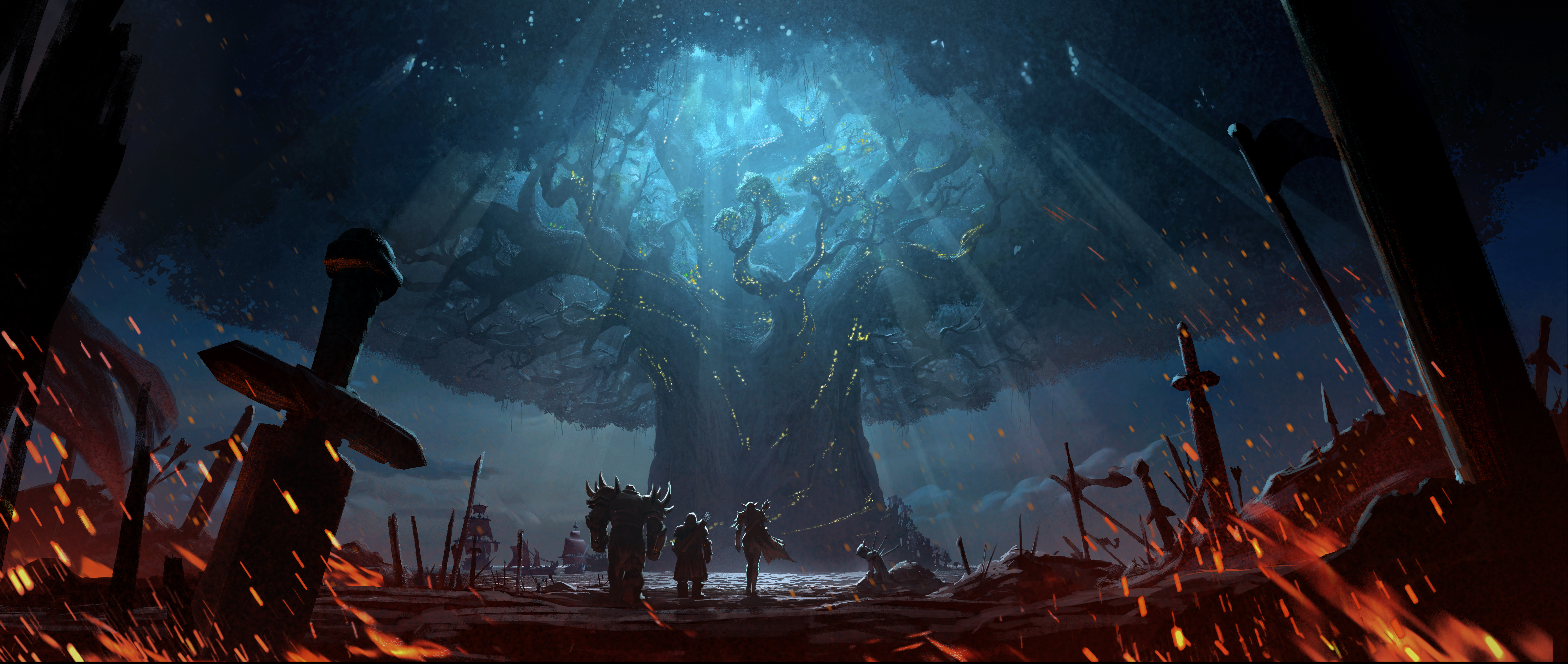 52 World Of Warcraft Battle For Azeroth Hd Wallpapers