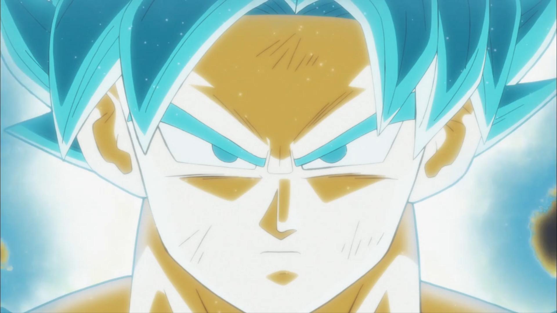 动漫 - 龙珠超  Goku Super Saiyan Blue 壁纸