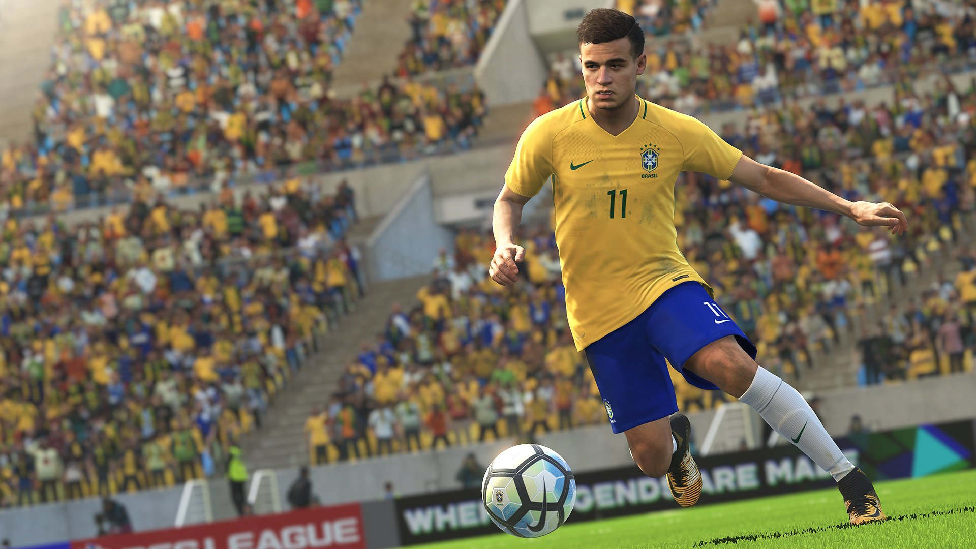 Video Game - FIFA 18  FIFA Philippe Coutinho Football Wallpaper