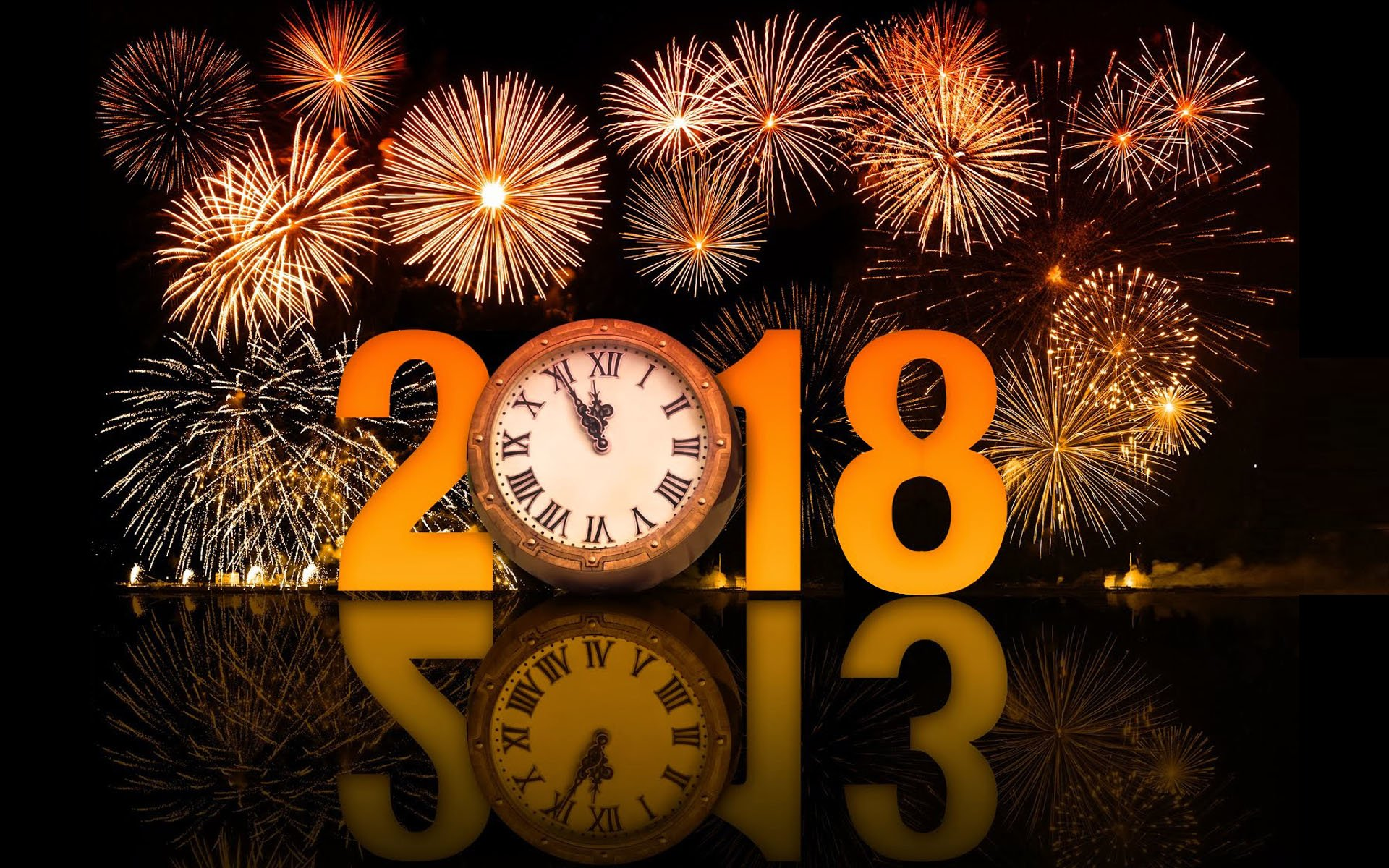 new year 2018 hd wallpaper background image id881705