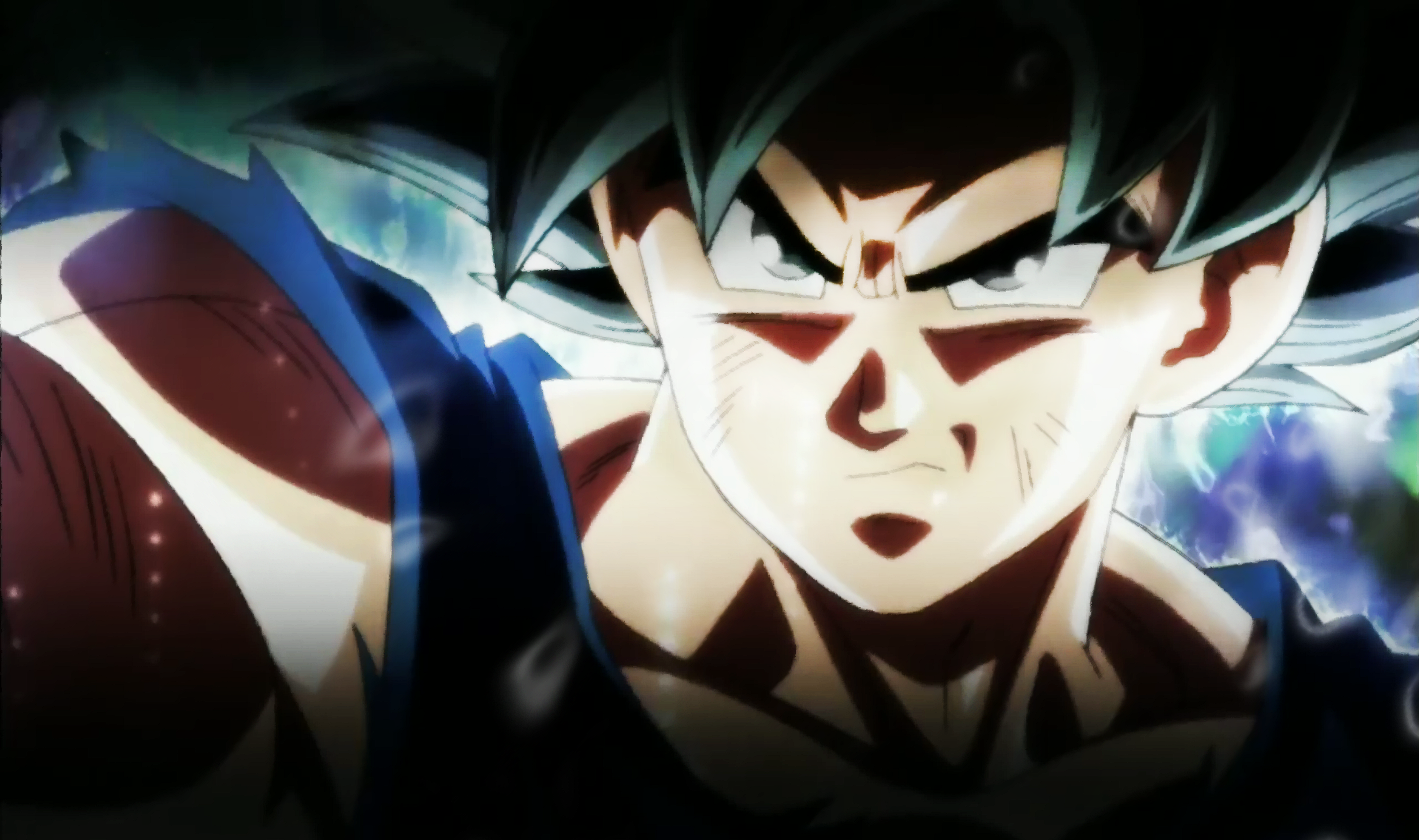 Goku Ultra Instinct Angry 5k Retina Ultra Hd Wallpaper