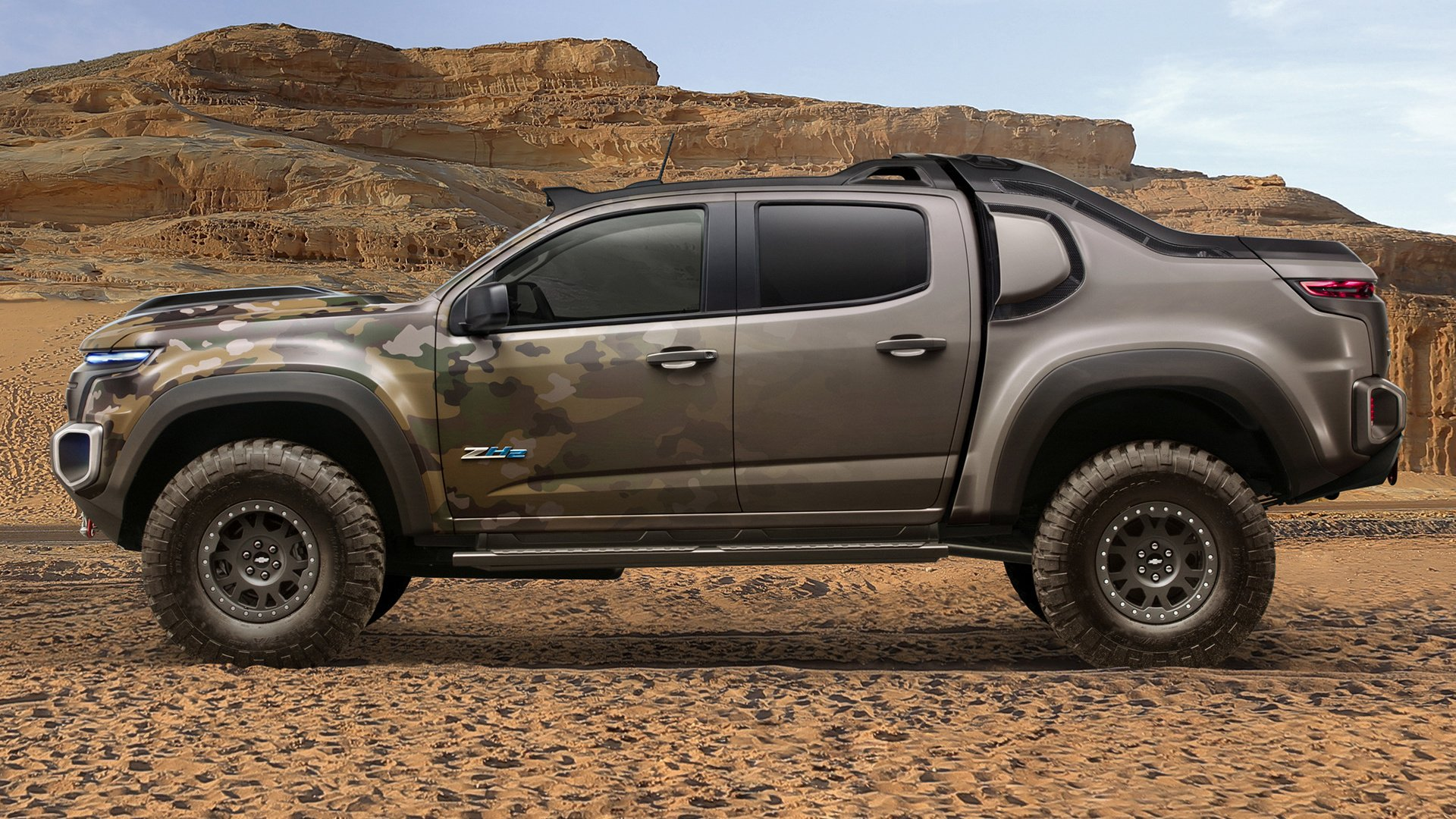 Vehicles - Chevrolet Colorado  Chevrolet Colorado ZH2 Pickup Off-Road Car Wallpaper