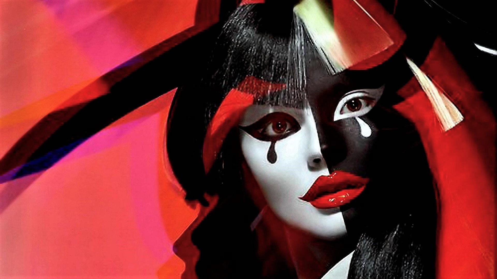 Girl clown hd wallpaper background image 1920x1080 - Circus joker wallpaper ...
