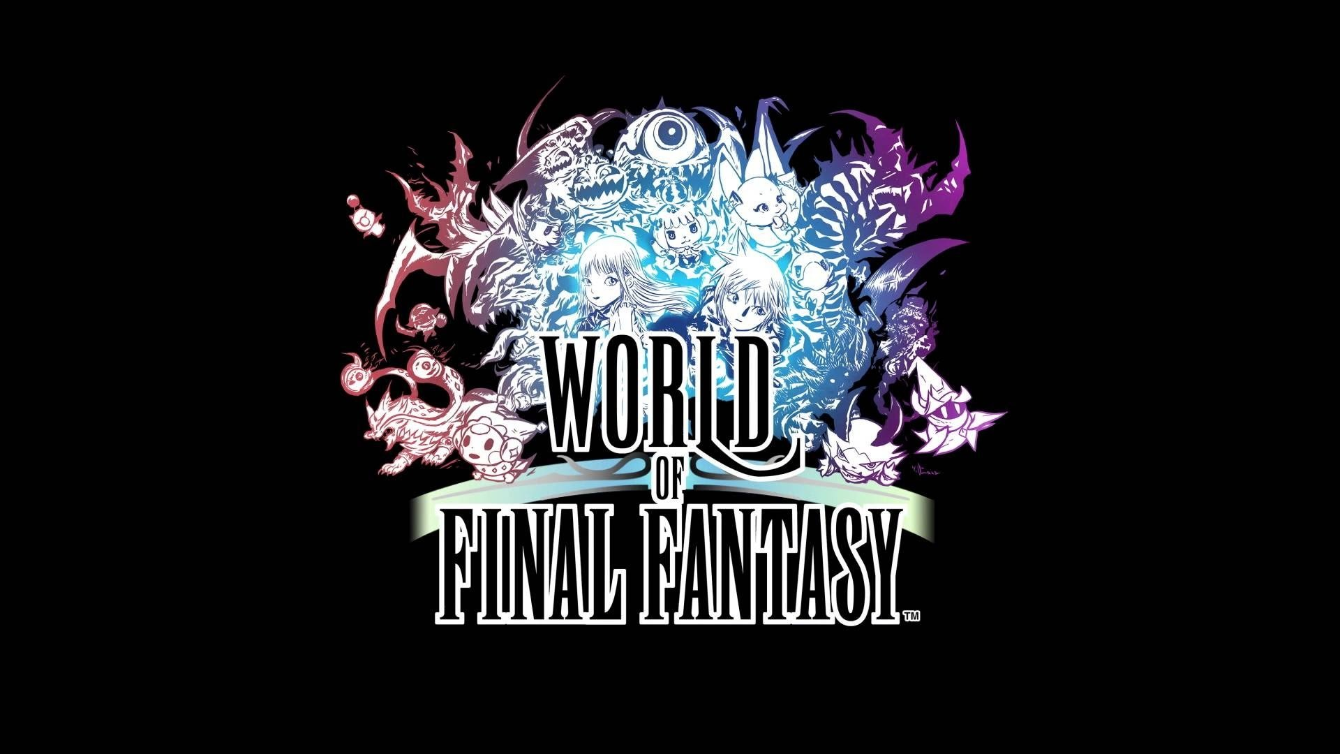 7 World Of Final Fantasy Fonds D Ecran Hd Arriere Plans