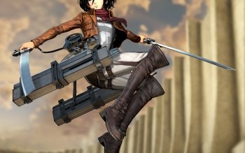 54 4k Ultra Hd Mikasa Ackerman Wallpapers Background Images Wallpaper Abyss