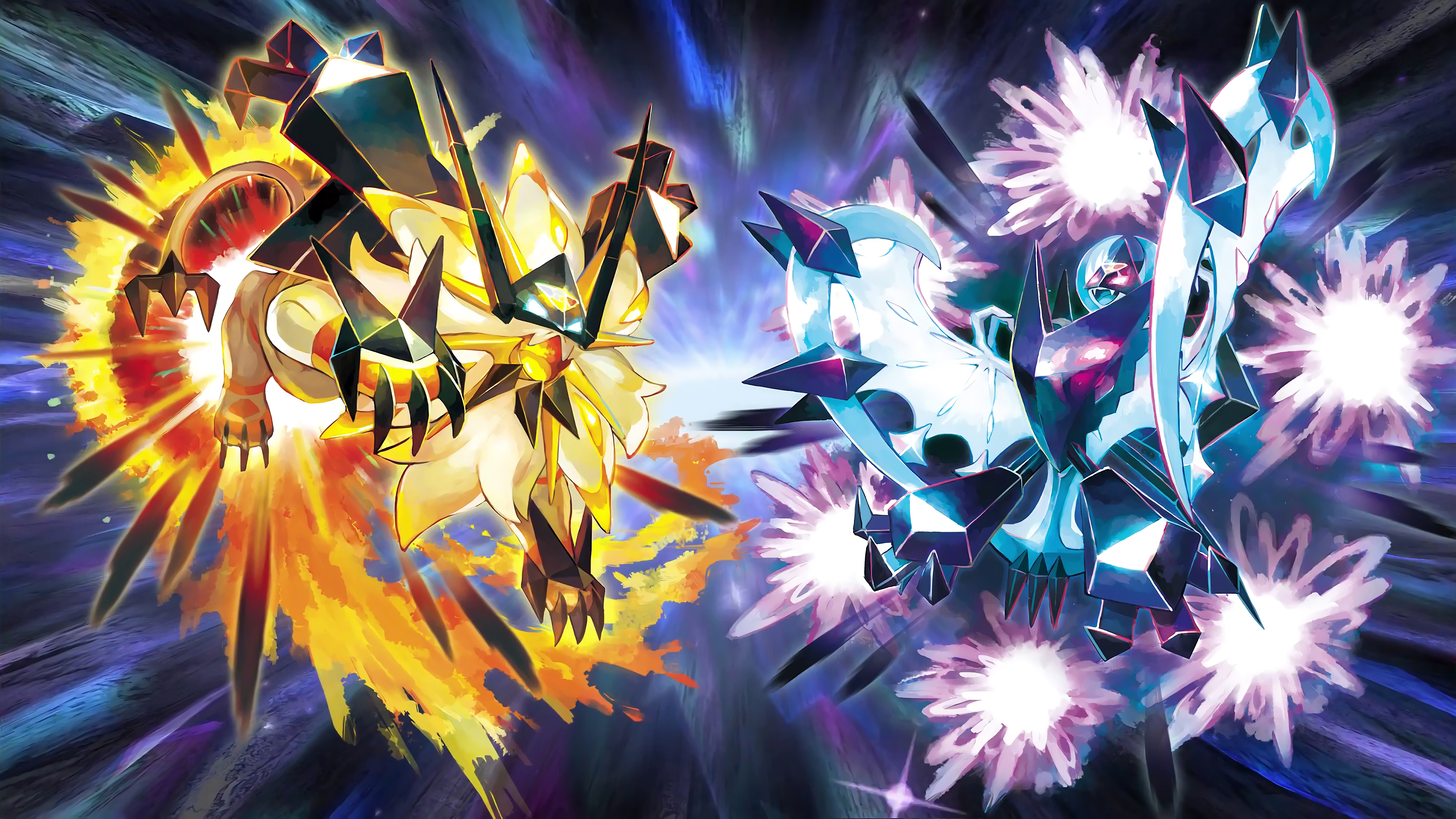 14 Pokemon Ultra Sun And Ultra Moon Hd Wallpapers Background