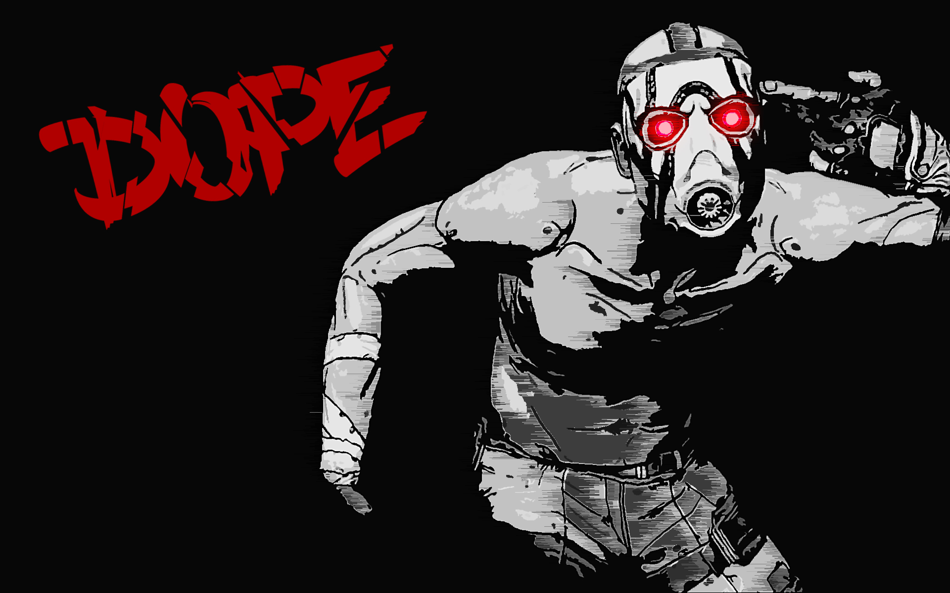 borderlands 2 psycho wallpaper image collections